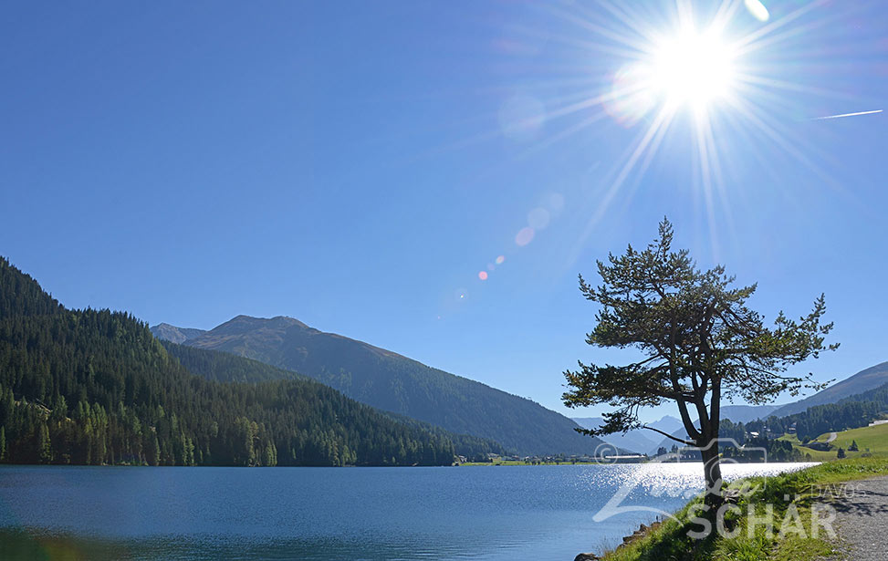Davosersee im Sommer